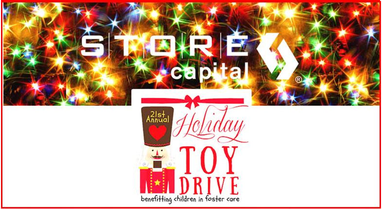 STORE Capital Employees Donate and Volunteer for foster kids